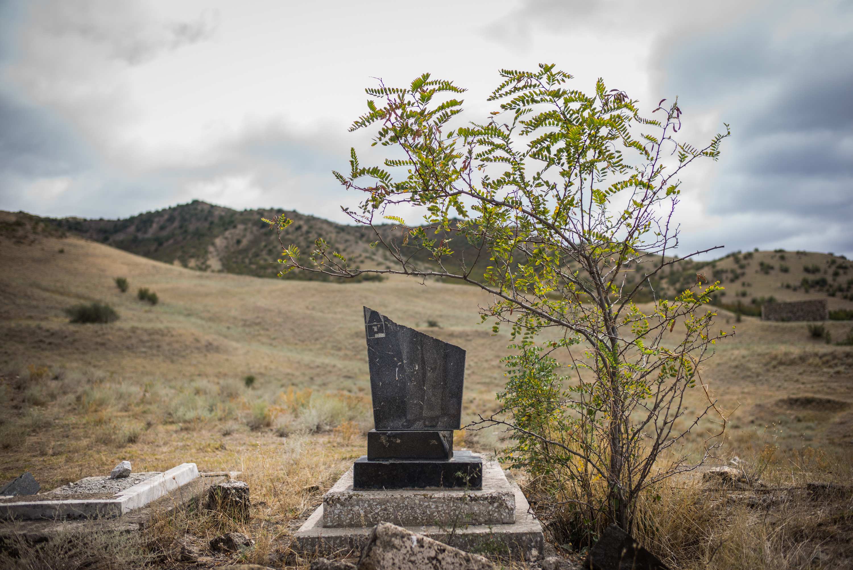 Gravestones in Nagorno Karabakh