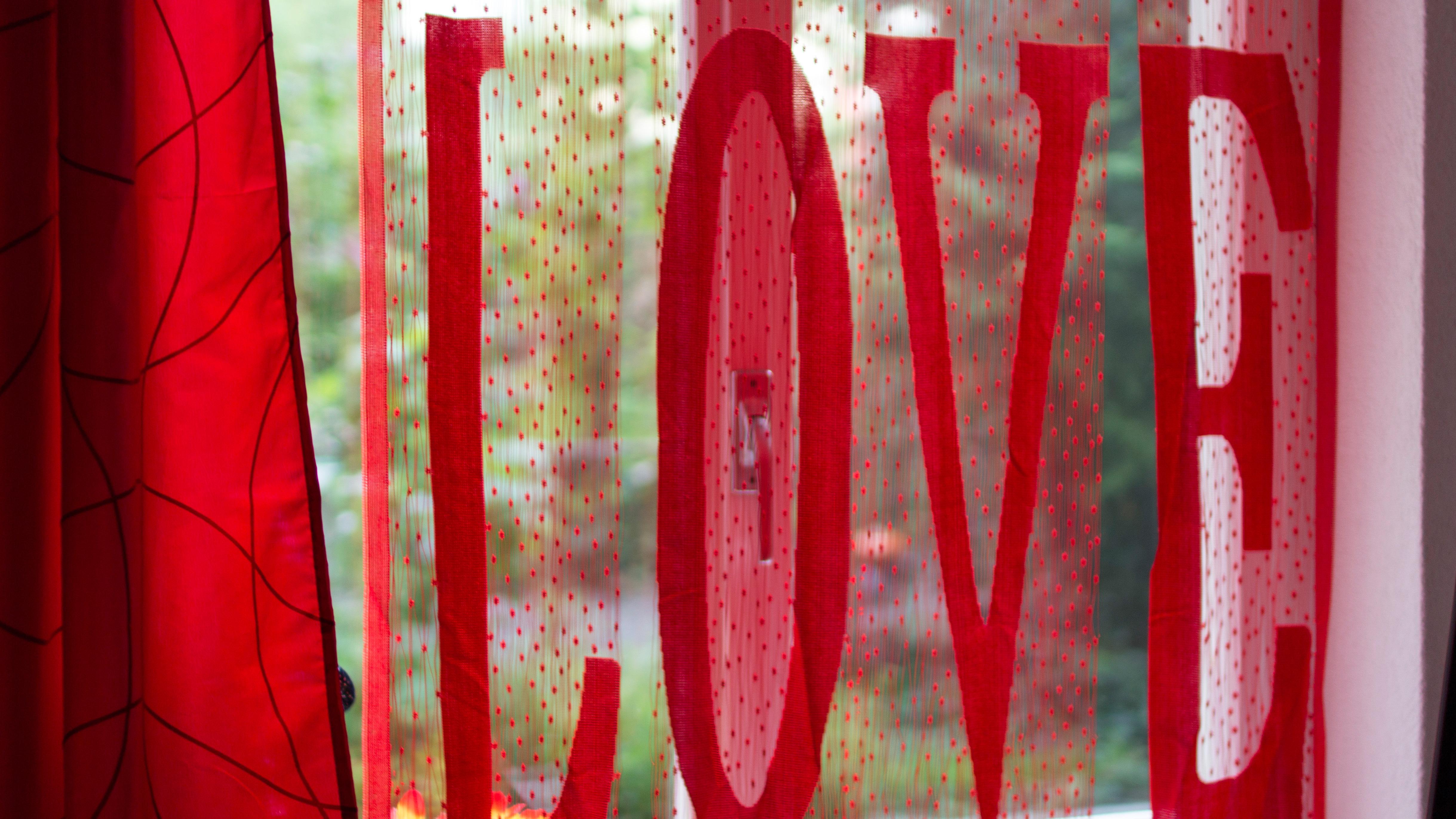 Love in the window