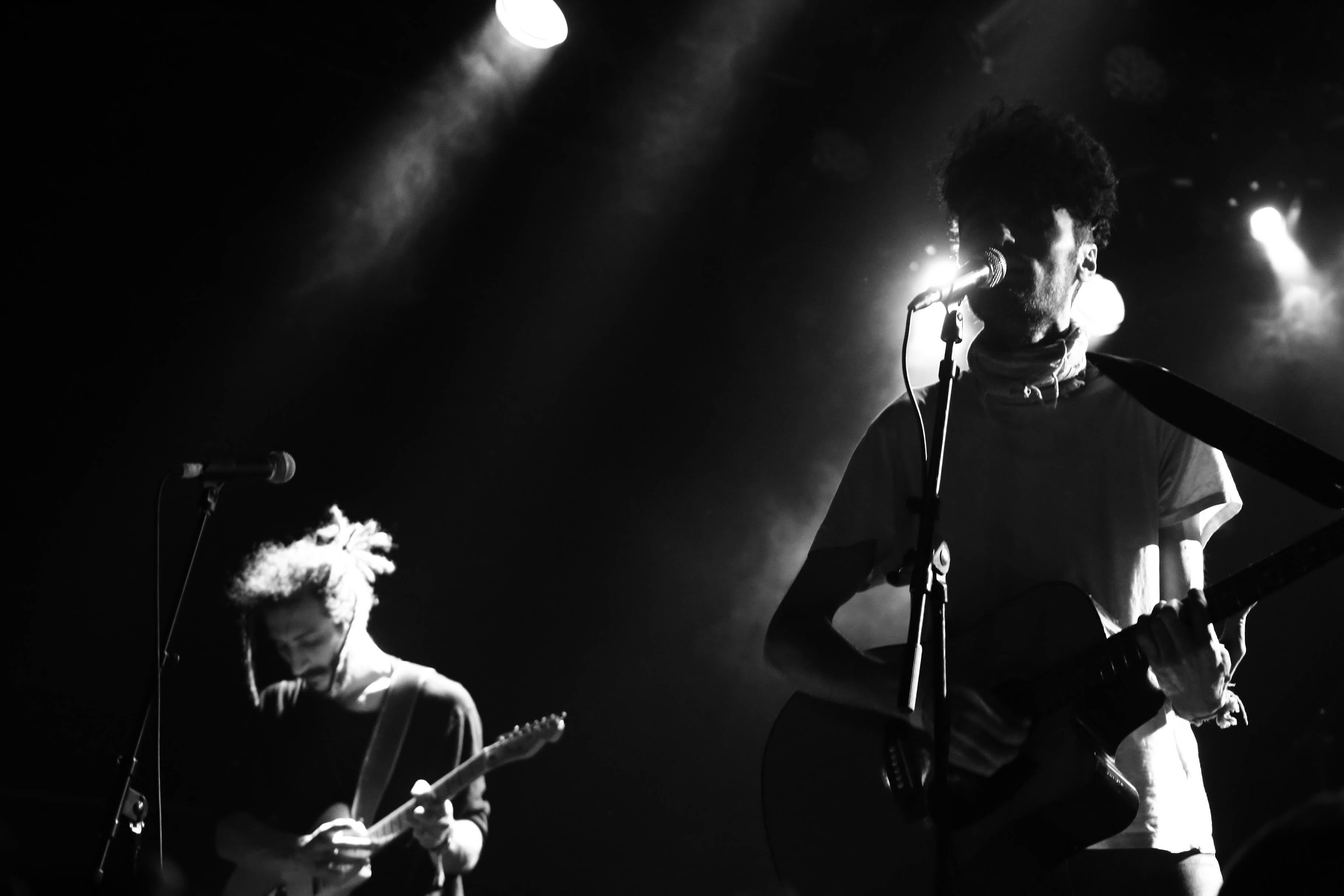 Rocking onstage in Berlin