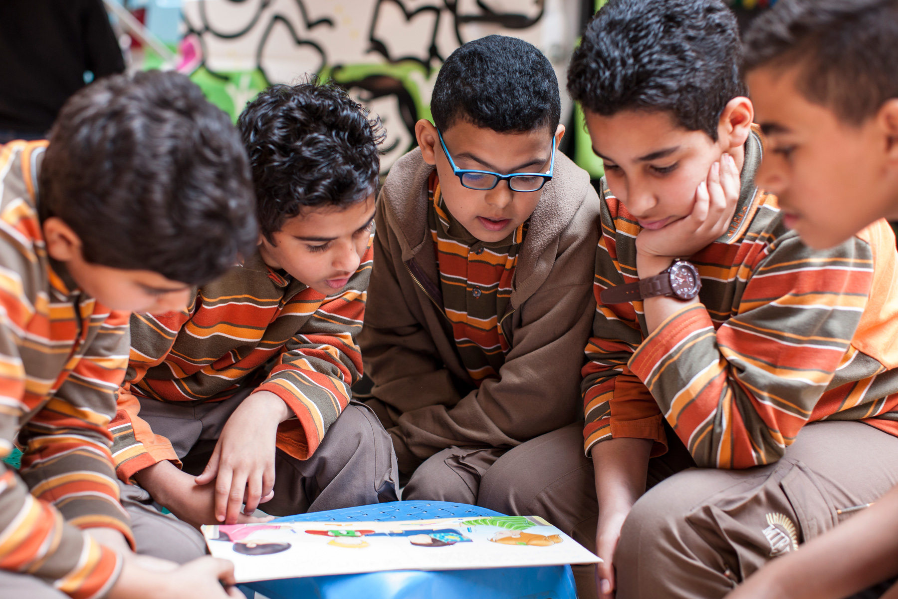 The project targets children and youth in marginalised areas in Egypt.