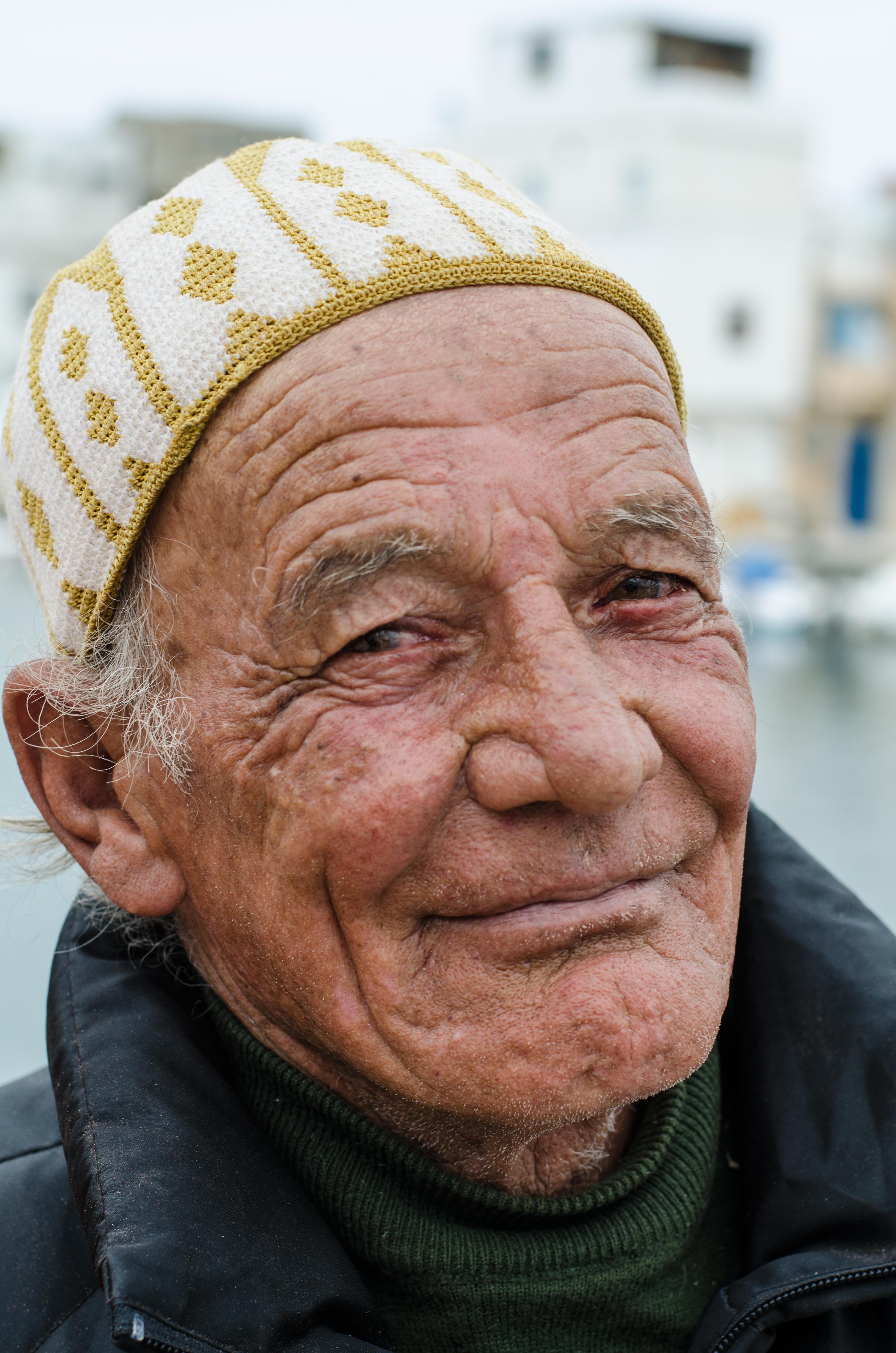 Hamzi Jaziri wirft schon so lange die Netze aus, wie es den Staat Tunesien gibt.