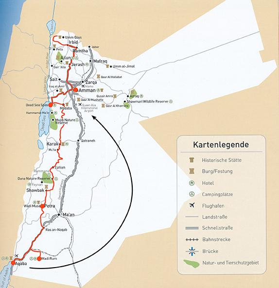 karte rundreise