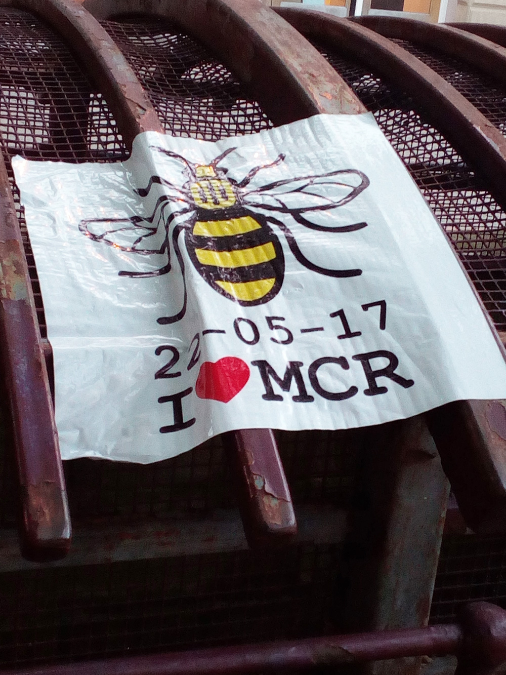 After the Arena bombing there was an outpouring of grief and popular support.