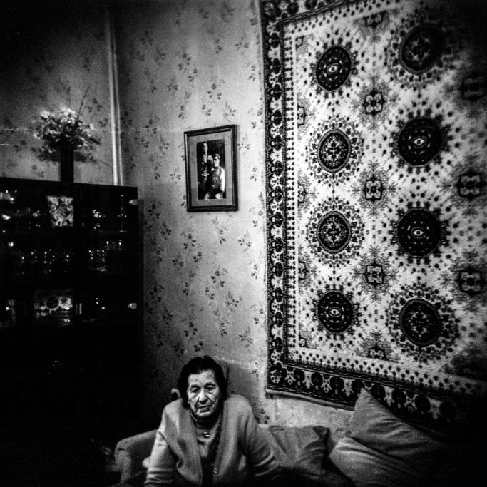 An old Armenian woman