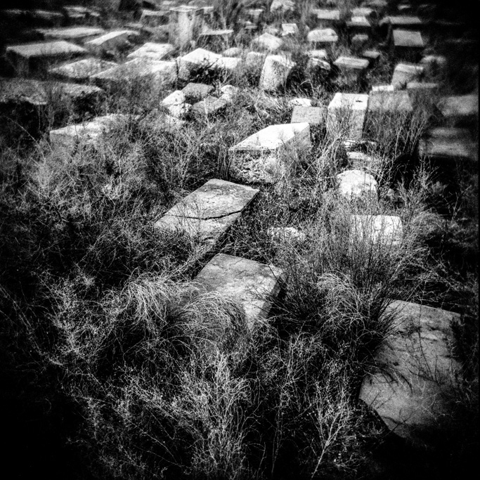 An Armenian cemetery