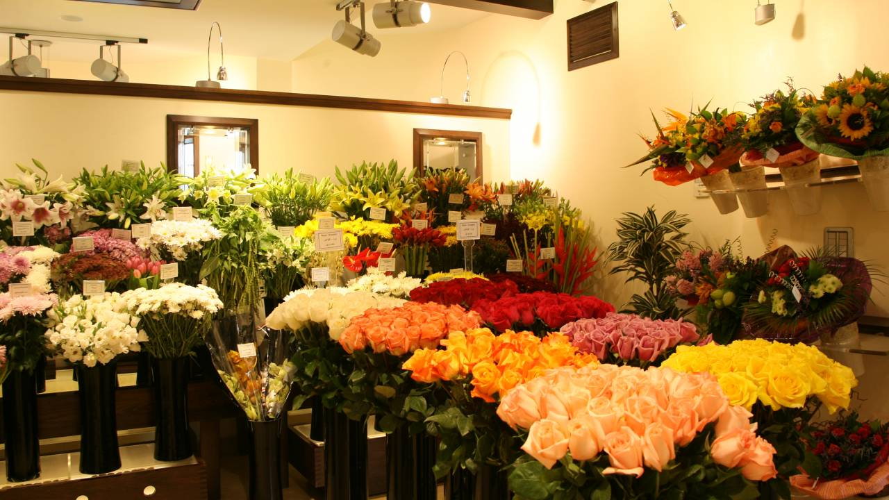 Filiale des Blumenhändlers Alissar