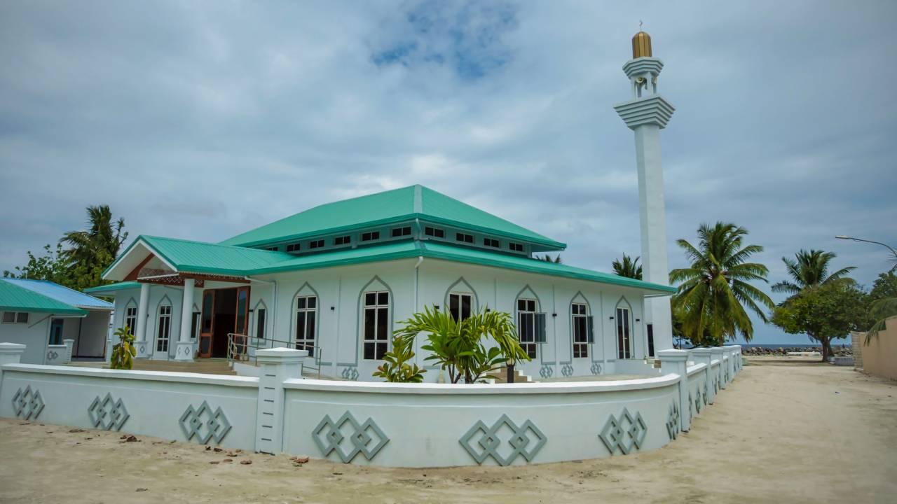 Moschee auf den Malediven