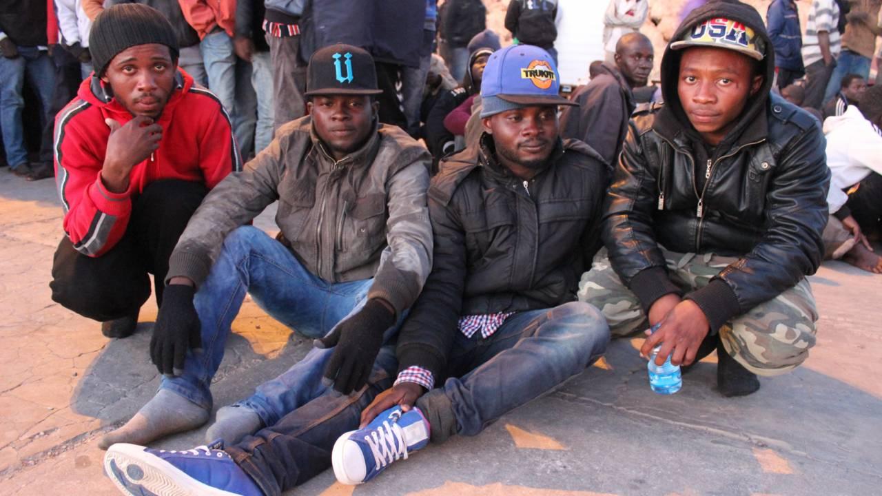 Migrants in Misrata