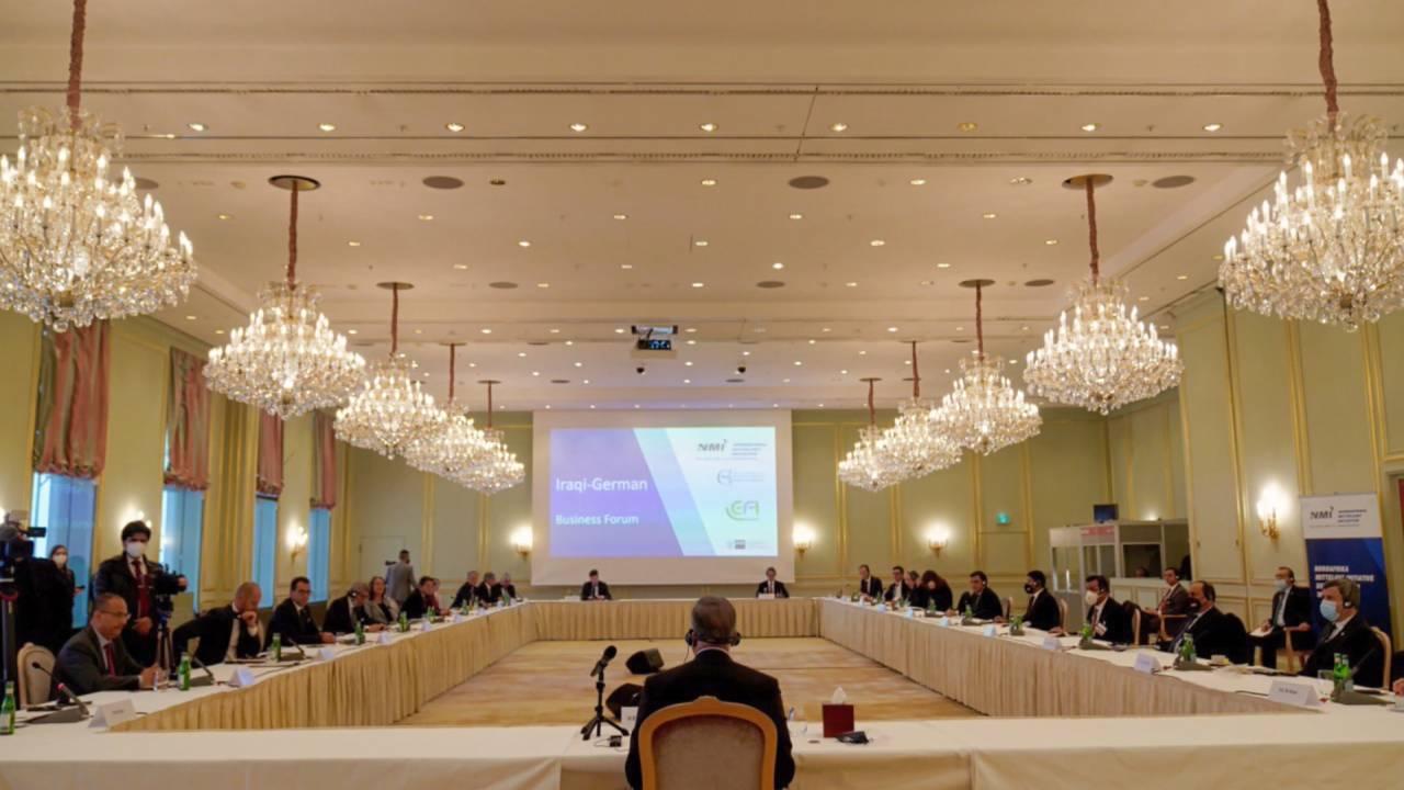 Mustafa Al-Kadhimi trifft Wirtschaftsvertreter