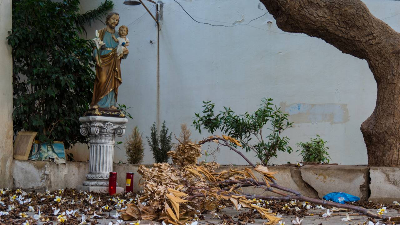 Lebanon's religious landscape is very diverse, churches can be found next to mosques.