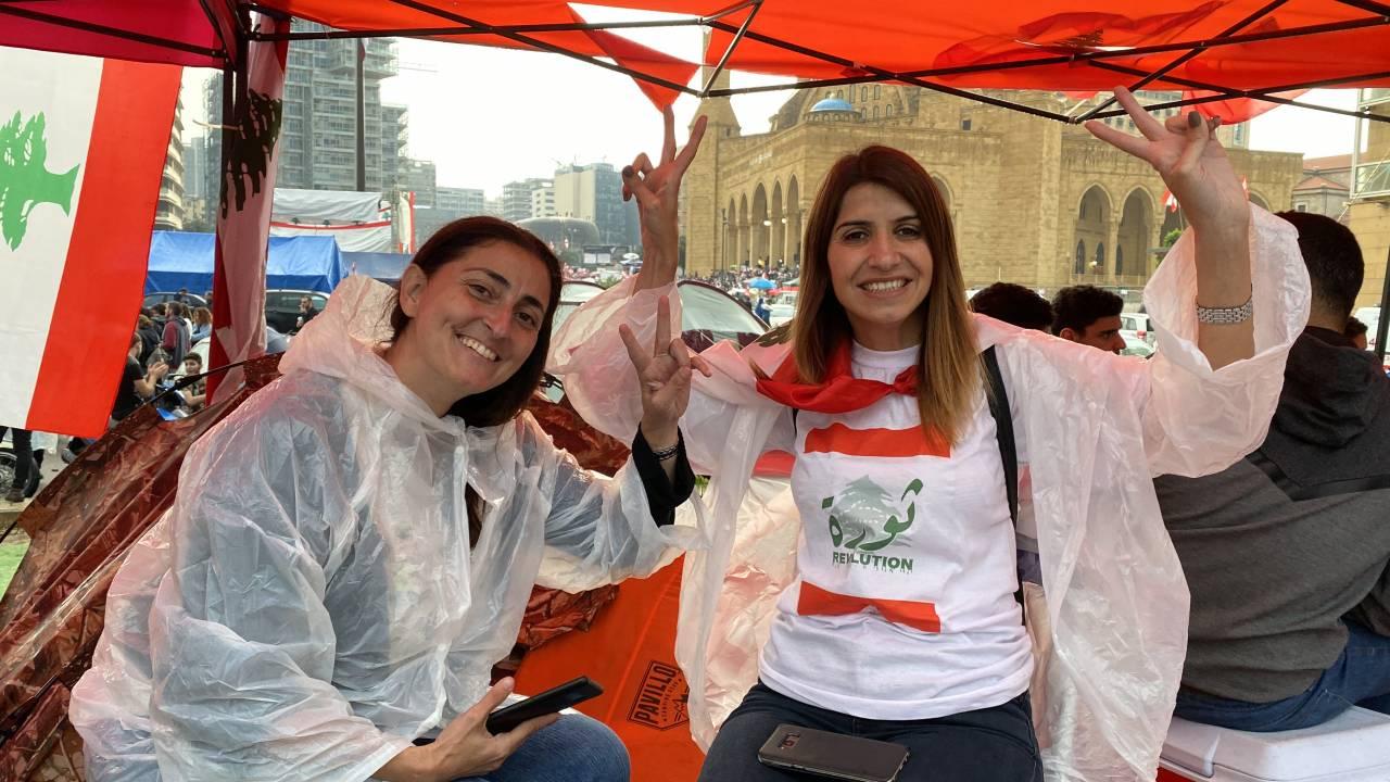 Organisation der Proteste im Libanon