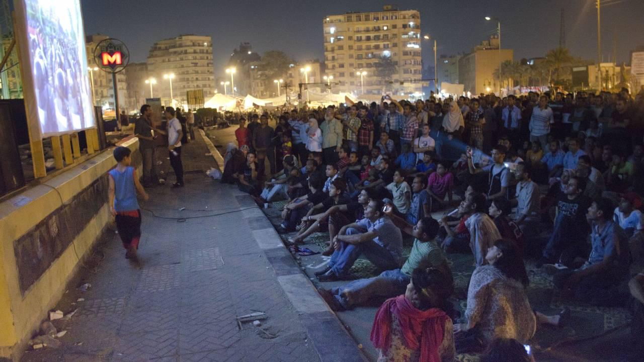 Andere unabhängige Projekte wie das Tahrir-Kino zeigen politische Dokumentationen und Filme aus dem Archiv.