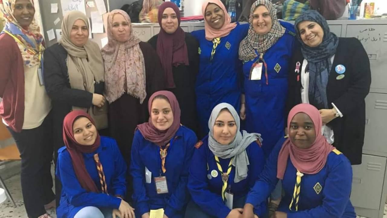 Libyens Pfadfinder-Bewegung