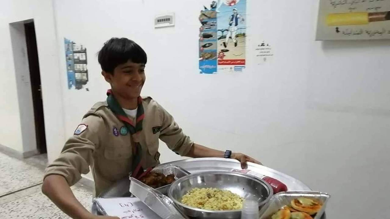 Scouts Movement in Libya