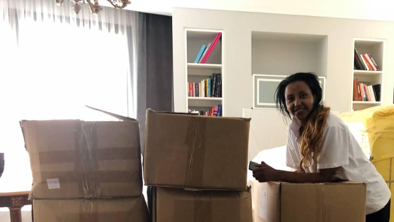 Beza Hiawi, the housekeeping supervisor recounts the good days of Le Bristol