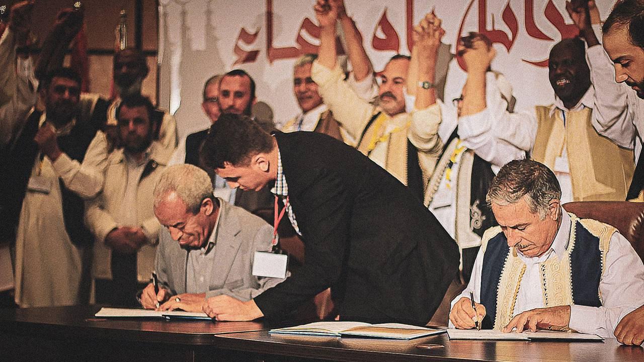 Vertreibung und Versöhnung in Libyen