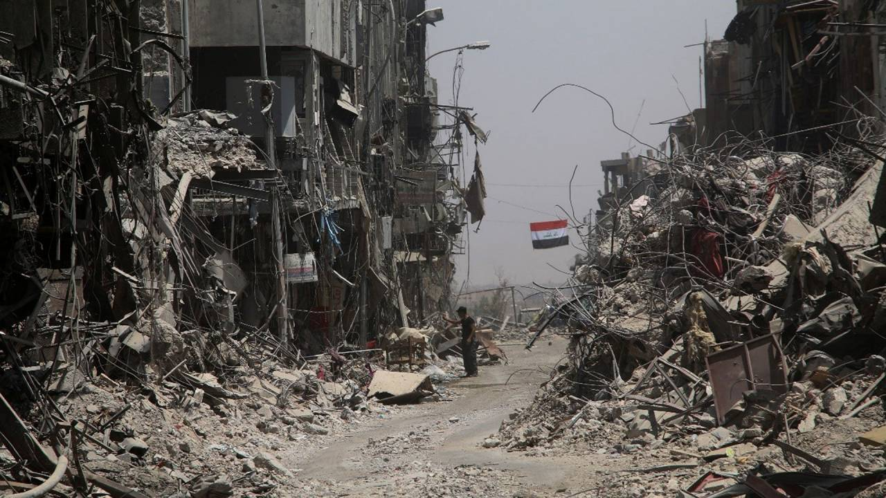 Die Hinterlassenschaften des IS im Irak
