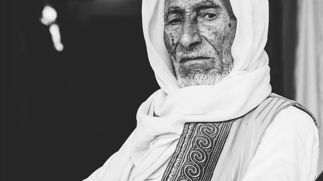 Saleh Al-Faqih, a champion of local carpet-weaving tradition from Misrata