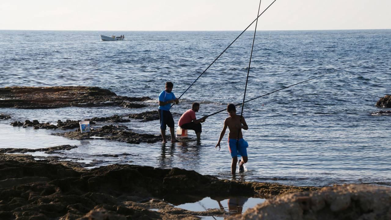 Fishermen in Tyre
