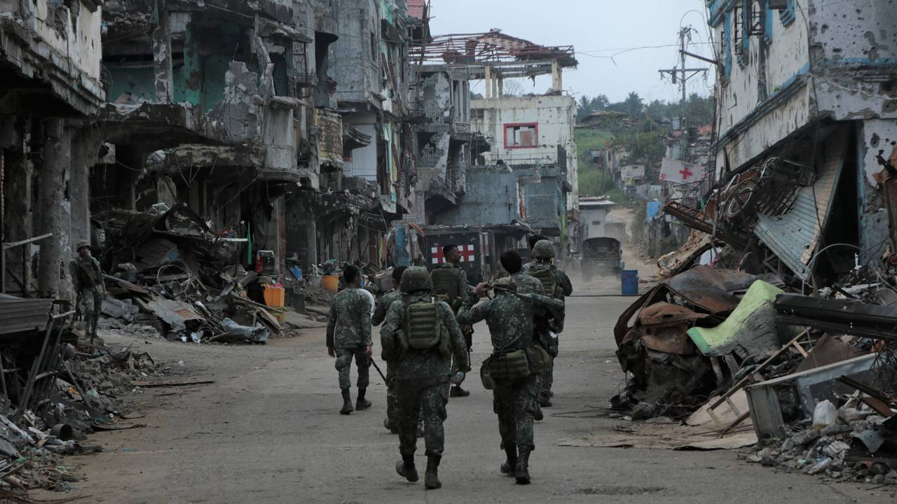 Von Mosul nach Mindanao