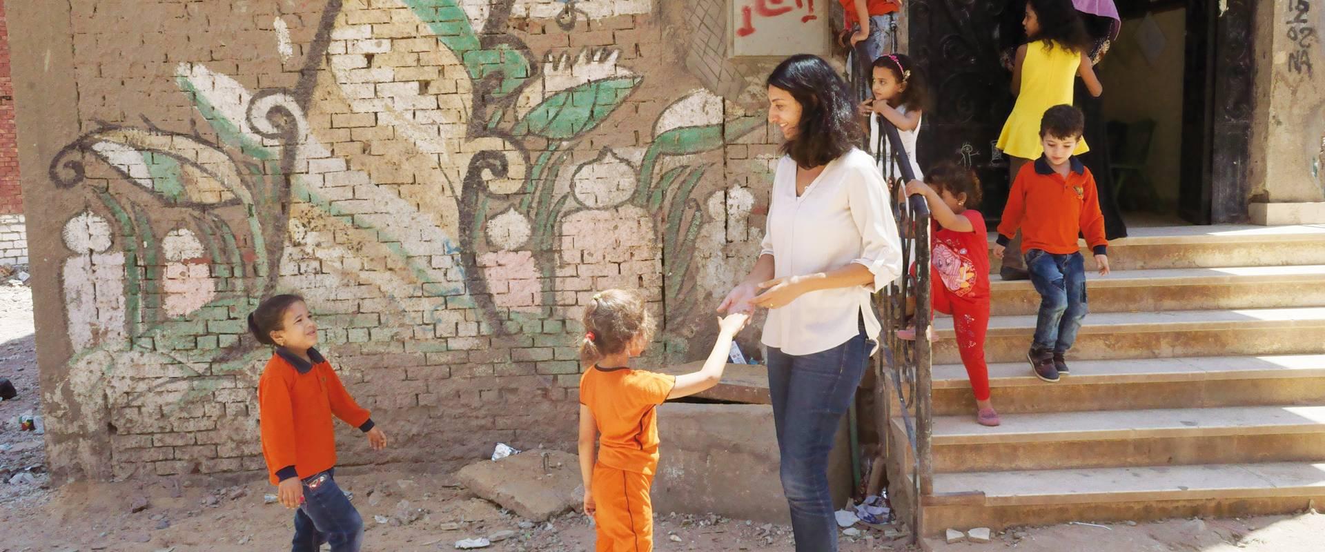 A community school in Cairo