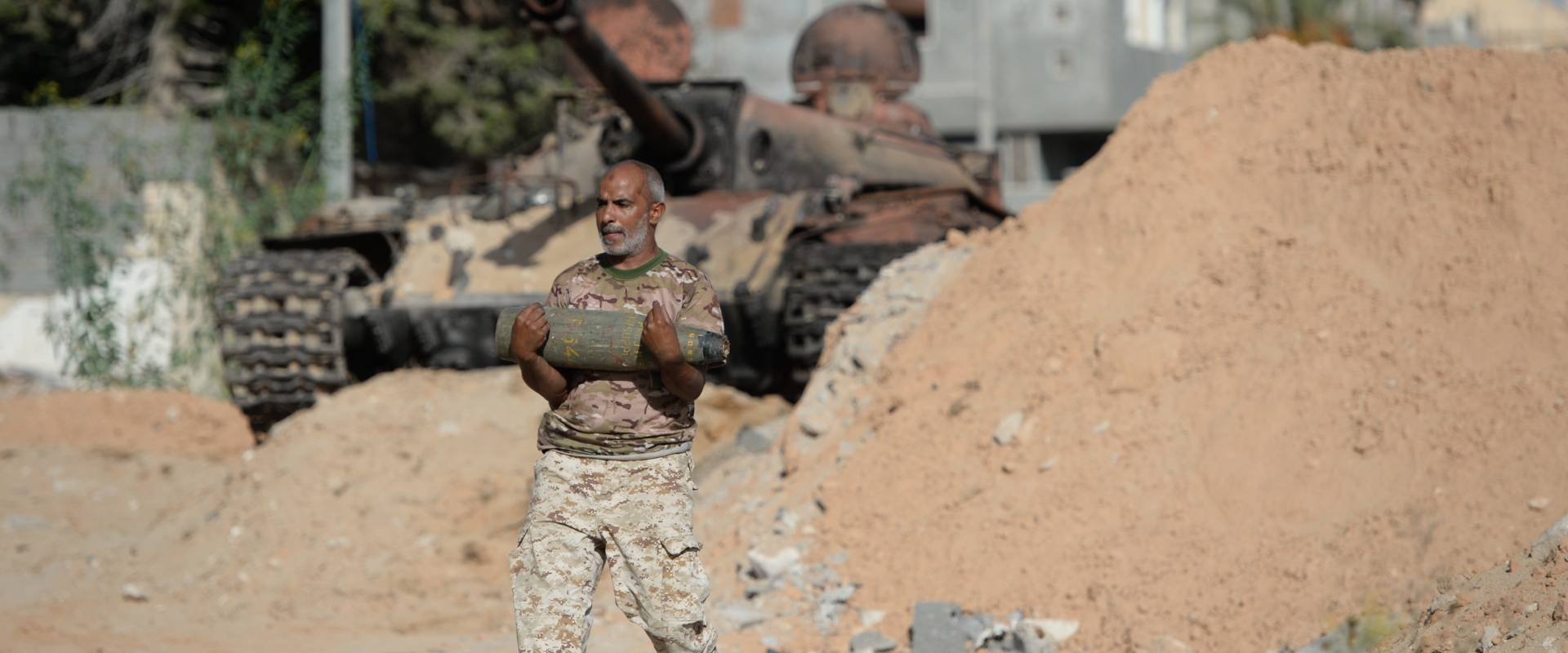 Bomb squads and the war in Libya