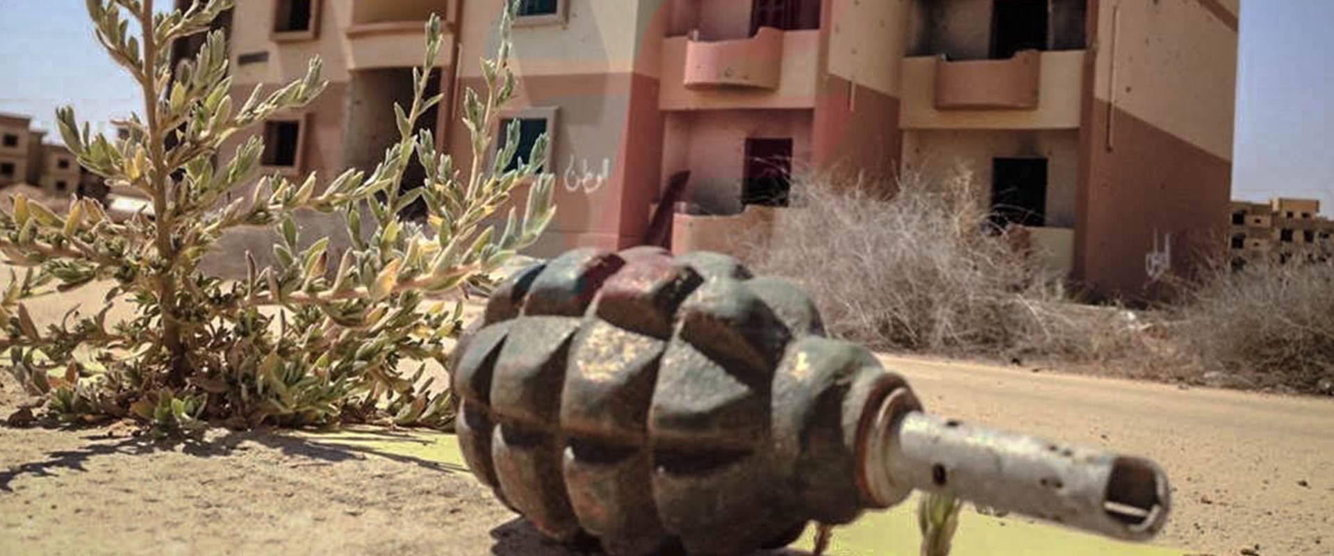 Minenräumung in Libyen