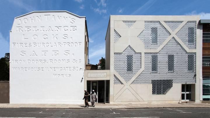 Moschee im Londoner Stadtteil Hackney