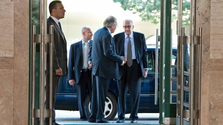Former UN Special Envoy to Syria Lakhdar Brahimi
