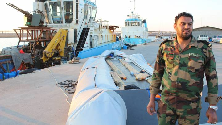 Muhammad Al-Skir of the Libyan coast guard.