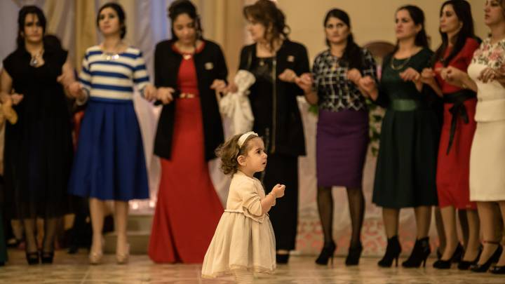 A Kurdish wedding