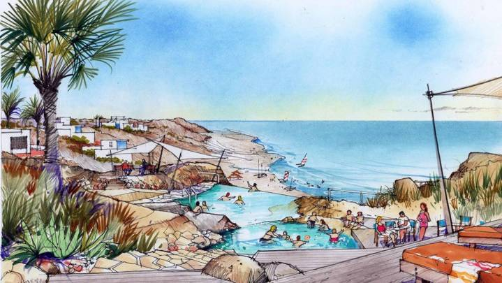 Hafen Duqm im Oman