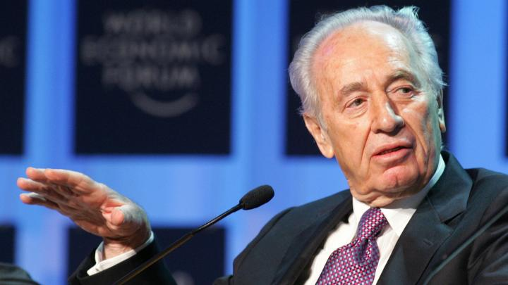 Shimon Peres auf dem World Economic Forum