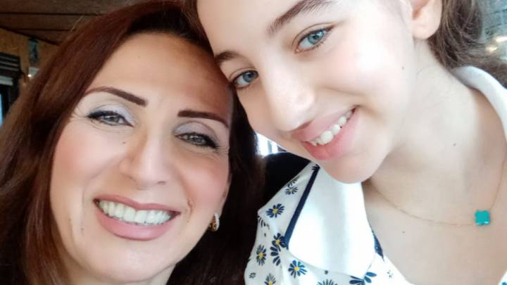 Gabrielle and her mother Jacqueline Khoury
