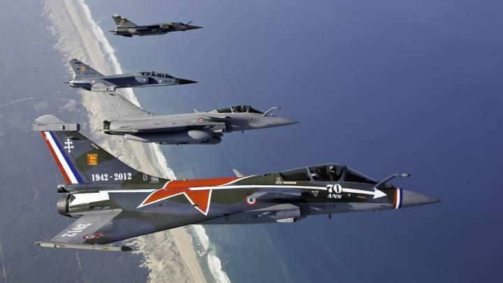 طائرات القوى الجوية الفرنسية