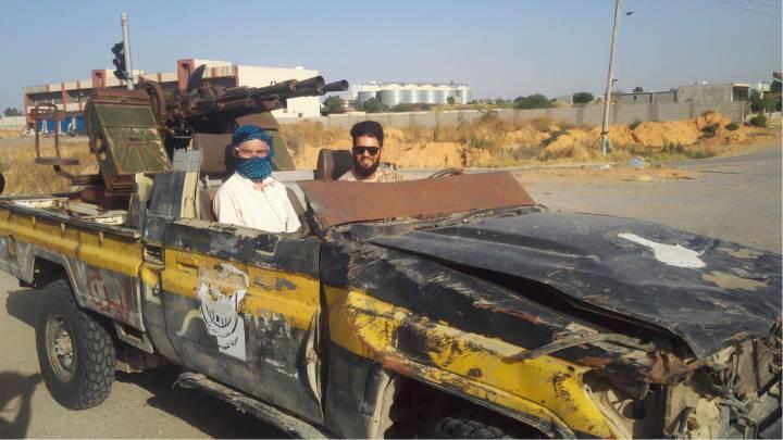 Libysche Milizen