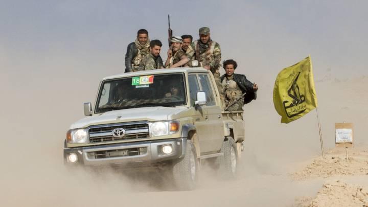 Schiitische Miliz Al-Haschd al-Schaabi im Irak, Aramco und Iran