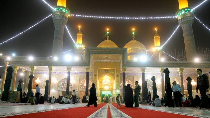 Der schiitische Schrein von Kazimiah in Bagdad