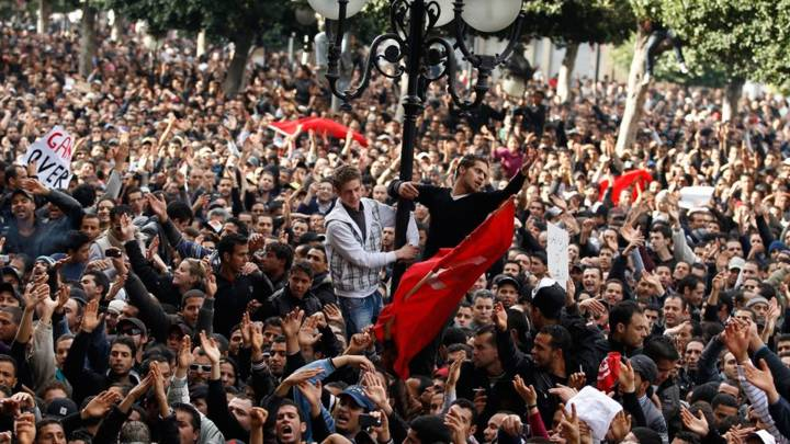 Revolution in Tunis