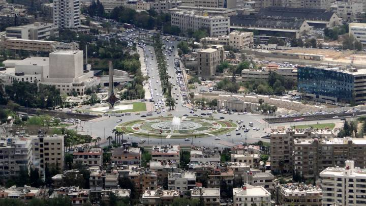 Umayyad Square in Damascus