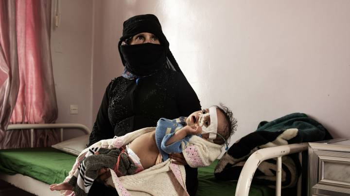 War and famine in Yemen