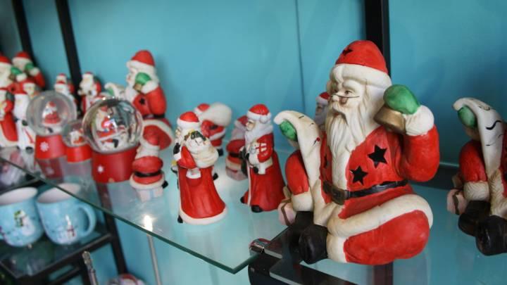 Weihnachts-Dekoration in der jordanischen Hauptstadt Amman