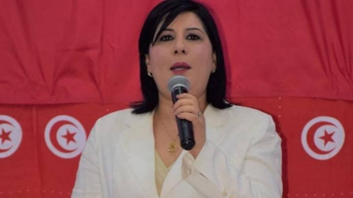 Tunesische Politikerin Abir Moussi