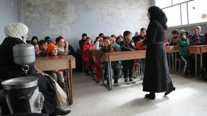 مدارس منظمات المجتمع المدني في ريف ادلب، سوريا