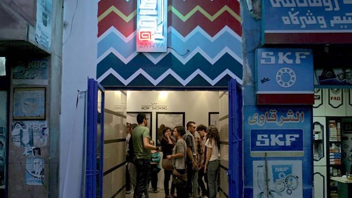 Zawya cinema in Cairo