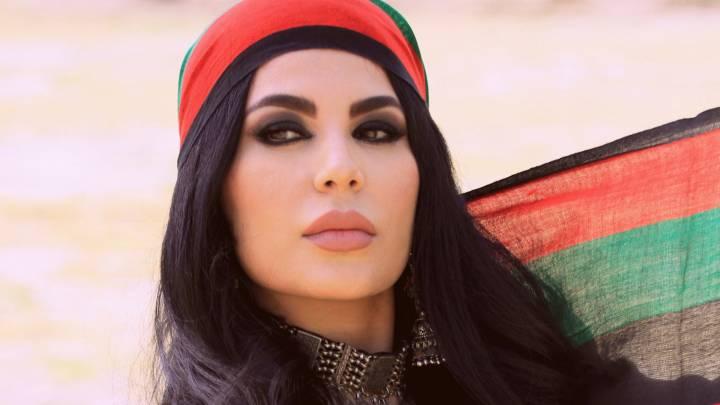 المغنية الأفغانية اريانا سعيد