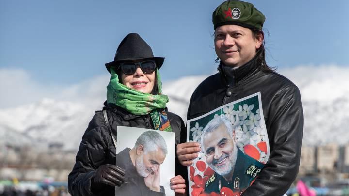 Iranische Revolutionsgarde nach Soleimani