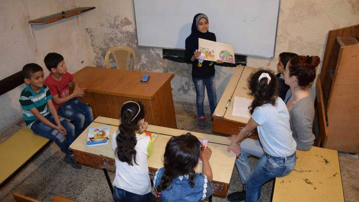 Sprachunterricht im »Levantine Institute of Tripoli«