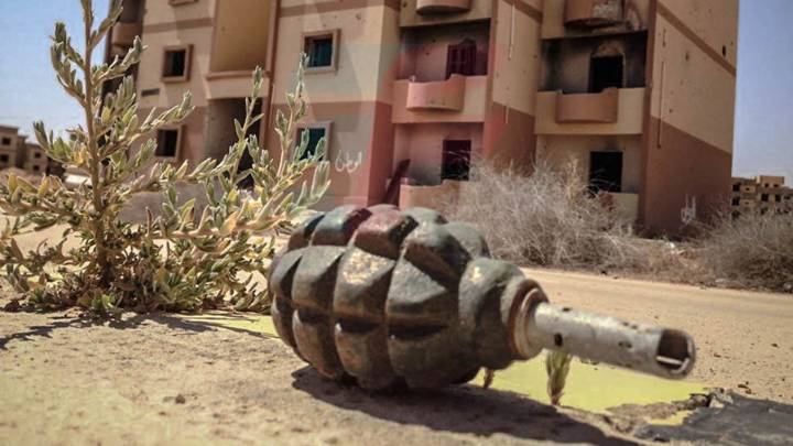 Demining in Libya