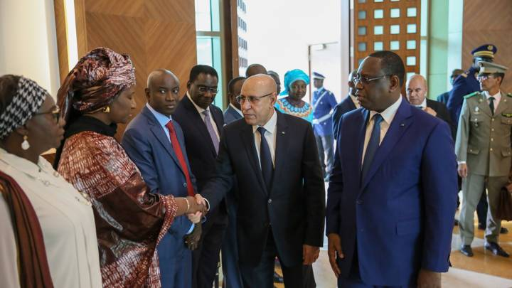 Mauretaniens neuer Präsident Mohamed Ould Ghazouani